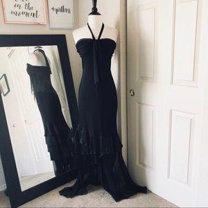 Black Party Dress Size 2